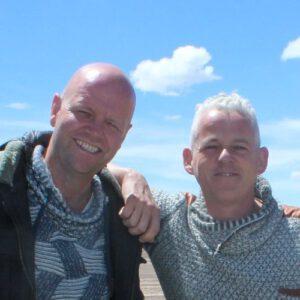 Wilbert en John van Arriadh Hotel in Spanje