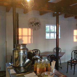 Workations voor ondernemers De Geschilde Aardappel natuurgebied de Wieden bij Zwartsluis Restaurant