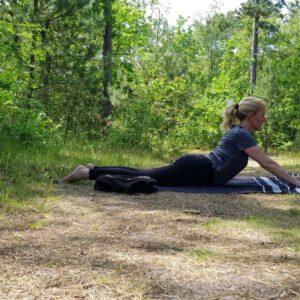 Workation Vlieland Yoga bos