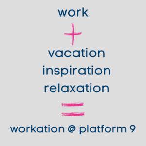 Work + vacation + inspiration + relaxation is workation voor ondernemers